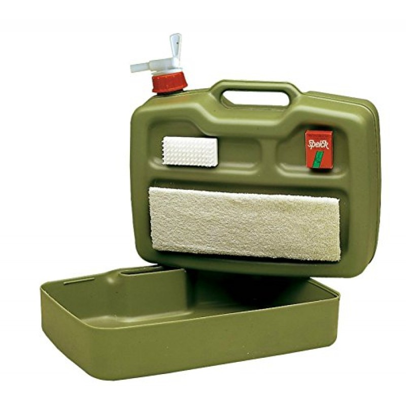 waschbox ideal f r unterwegs jagdaktiv. Black Bedroom Furniture Sets. Home Design Ideas