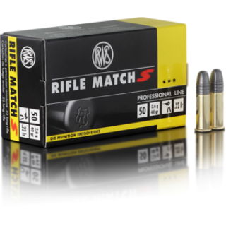 RWS Rifle Match S .22lfb pro Pack=50 Stück