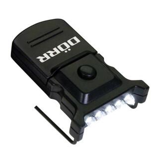 Dörr  CL-5 Micro LED Klemmleuchte für Schild/Schirmmütze schwarz