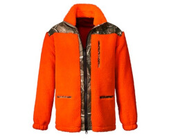 Deerhunter Faserpelzjacke Signal orange
