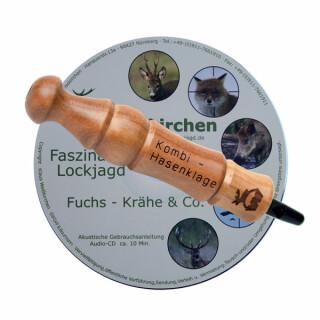 Weisskirchen Spezialkombi Hasenklage mit Mauspfeifchen INKL. DVD