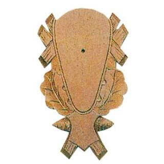 Gehörnbrett für Rehwild, 23x14 cm