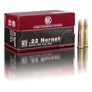 RWS .22 Hornet MJ 3,0 g / 46 gr pro Packung=50 Stück