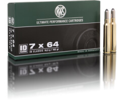 RWS 7x64 ID Classic 10,5 g / 162 gr pro Packung=20...