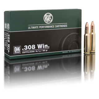 RWS .308 Win DK 10,7 g  pro Pack=20 Stück