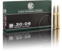 RWS .30-06  EVO 10,9 g / 184 gr  pro Pack=20 Stück