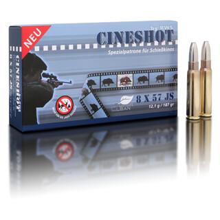 RWS 8x57 JS Cineshot 12,1 g / 187 gr  pro Packung=20 Stück