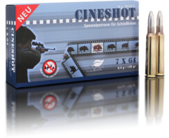 RWS 7x64 Cineshot 9 g / 139 gr  pro Packung=20 Stück