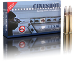 RWS 9,3x62 Cineshot 12,7 g / 196 gr  pro Packung=20...