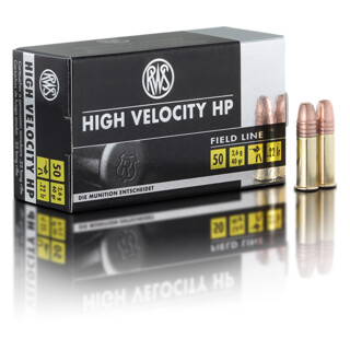RWS .22 lfB High Velocity HP 2.06 g pro Pack=50 Stück