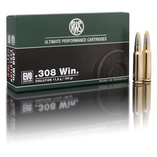 RWS .308 Win EVO 10,9 g / 184 gr  pro Packung=20 Stück