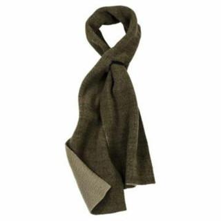 Schal aus Fleece doppelseitig grün für Jagd Angeln Outdoor