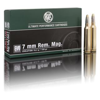 RWS 7mm Rem. Mag. Evolution Green 8,2G  pro Packung=20 Stück