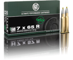 RWS 7 x 65 R Evolution Green 8,2G  pro Packung=20 Stück