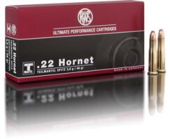 RWS .22 HORNET TMS 3,0G  pro Packung=20 Stück