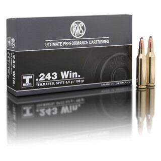 RWS .243 WIN TMS 6,5G pro Packung=20 Stück