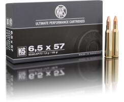 RWS 6,5 x 57 KS 8,2G pro Pack=20 Stück
