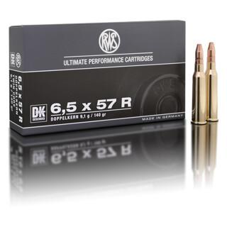RWS 6,5 x 57 R DK 9,1G pro Pack=20 Stück