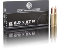 RWS 6,5 x 57 R KS 8,2G pro Pack=20 Stück