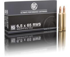 RWS 6,5 x 65 RWS KS 8,2G pro Pack=20 Stück