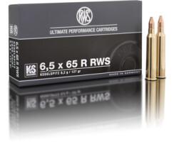 RWS 6,5 x 65 R RWS KS 8,2G pro Pack=20 Stück