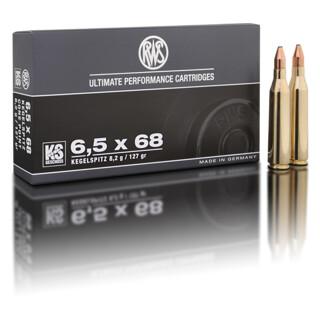 RWS 6,5 x 68 KS 8,2G pro Pack=20 Stück