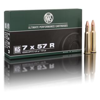 RWS 7 x 57 R KS 10,5G  pro Pack=20 Stück