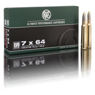 RWS 7 x 64 EVO 10,3G pro Pack=20 Stück