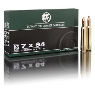 RWS 7 x 64 KS 8,0G pro Pack=20 Stück