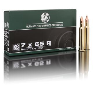 RWS 7 x 65 R KS 8,0G  pro Pack=20 Stück