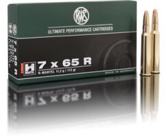 RWS 7 x 65 R HMK 11,2G pro Pack=20 Stück