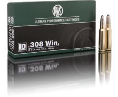 RWS .308 WIN ID Classic 9,7G  pro Pack=20 Stück