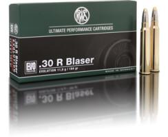 RWS .30 R BLASER EVO 11,9G  pro Pack=20 Stück