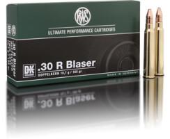 RWS .30 R BLASER DK 10,7G  pro Pack=20 Stück