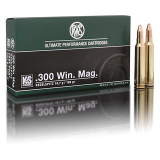 RWS .300 Win. Mag. KS 10,7G pro Pack=20 Stück