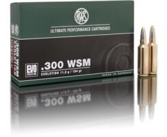 RWS .300 WSM EVO 11,9G  pro Pack=20 Stück
