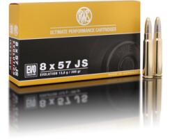 RWS 8 x 57 JS EVO 13,0G pro Pack=20 Stück