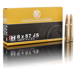 RWS 8 x 57 JS HMK 12,1G pro Pack=20 Stück