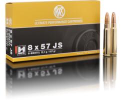 RWS 8 x 57 JRS HMK 12,1G pro Pack=20 Stück