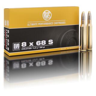 RWS 8 x 68 S EVO 13,0G pro Pack=20 Stück