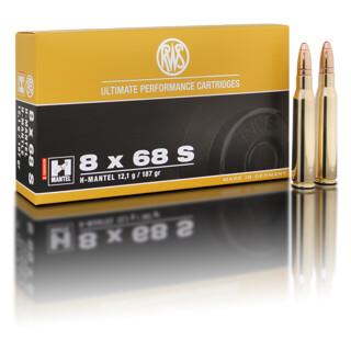 RWS 8 x 68 S HMK 12,1G pro Pack=20 Stück