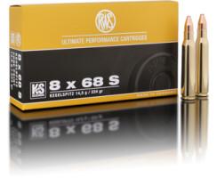 RWS 8 x 68 S KS 11,7G pro Pack=20 Stück