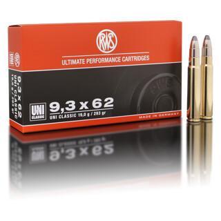 RWS 9,3 x 62 UNI Classic 19,0G pro Pack=20 Stück