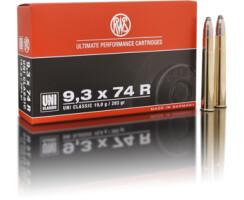 RWS 9,3 x 64 R UNI Classic 19,0G pro Pack=20 Stück