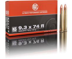 RWS 9,3 x 74 R KS 16,0G pro Pack=20 Stück