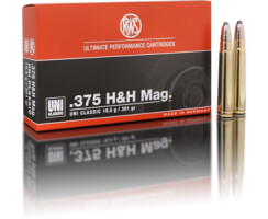 RWS .375 H&H MAG UNI Classic 19,5G pro Pack=20 Stück