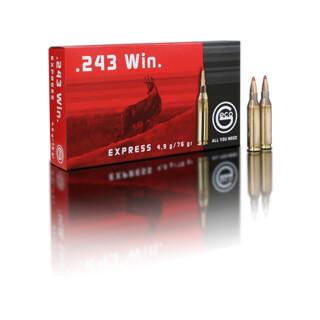 GECO .243 Win. Express 4,9 g pro Pack=20 Stück