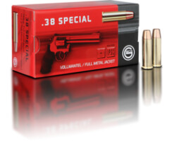 .38 Special 10,2 g Vollmantel Flachkopf Pack=50 Stück