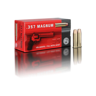 .357 Magnum 10,2 g Vollmantel Flachkopf Pack=50 Stück