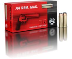 .44 Rem. Mag. 15,6 g Teilmantel Flachkopf  Pack=50 Stück